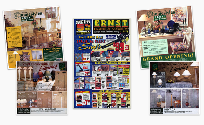 Ernst Home Centers Mailers